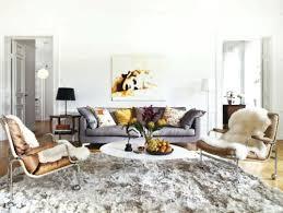 living room gray sofa blue