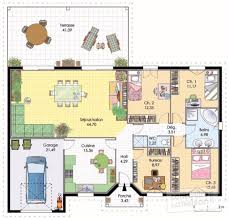 Maison Plain Pied 3 Chambres Beautiful Pin Plan Maison M Plain