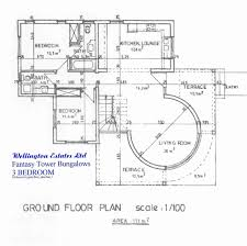 bedroom house ground plan fresh fantasy tower bed bungalow split plans six house plans with