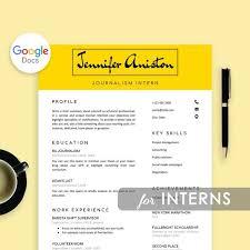 Intern Resume Template Google Docs Resume For Internship Resume Template Intern College Student Resume Graduate School For Interns