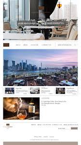 High End Website Design Web Design High End Restaurant Maison Pourcel On Behance