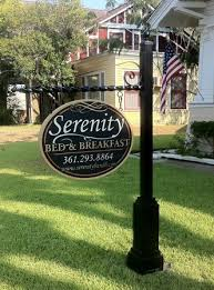 Decorative Sign Posts Art SignWorks Wrought Iron Scroll Brackets Posts For Signs 75