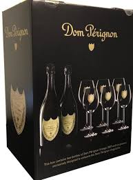 maison moet chandon dom perignon 2 bottle w 6 gles gift set nv magruder s of dc