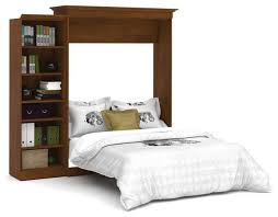bestar versatile 92 queen wall bed kit tuscany brown transitional murphy beds by beyond s