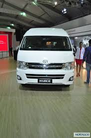 Toyota Hiace to be launched in India as a Luxury Commuter Vehicle ...