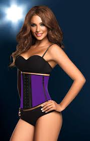 the theory behind workout corsets like this one is that pression leads to long term slimming
