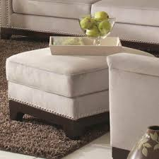 Furniture Ottoman And Coffee Table Storage Cocktail Ottoman