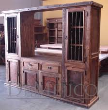 The Old Wood Entertainment Center wall unit is a beautiful Rustic ...