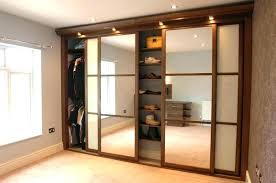 mirrored sliding closet doors for installing