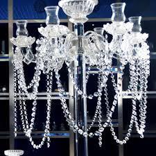 86 bead chain clear glass crystal chandelier parts octagonal bead chain wedding decor 183cm chain