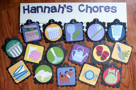 Chore Chart Ideas Found A Chore Chart Made With The