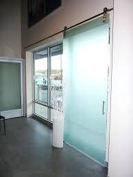 glass barn door sliding doors top hung .