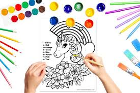 I love paint by numbers as i suffer with stress find them relaxing 1 year ago. Unicorn Color By Number Free Printable Unicorn Coloring Pages