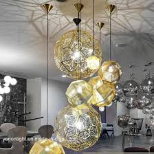 tom dixon stainless steel pendant lighting copper finish metal lamp