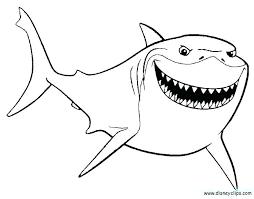 coloring page shark coloring pages shark shark tale coloring pages shark tale coloring printable coloring shark