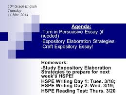 agenda turn in persuasive essay if needed expository  agenda turn in persuasive essay if needed expository elaboration strategies craft expository essay