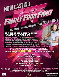 ABC's Family Food Fight Casting Call!