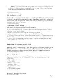 Free Scale Evaluation Rating Examples Performance Appraisal