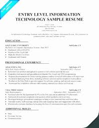 50 Best Of Stock Information Technology Resume Samples 2015 | Resume ...