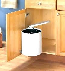 kitchen trash can cabinet kitchen garbage can cabinet door trash wood kitchen cabinet trash pull out