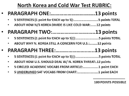 essay topics korean war