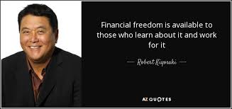 Financial Freedom Quotes Robert Kiyosaki