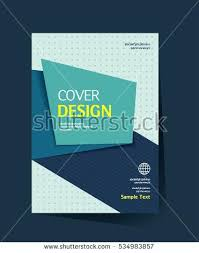 brochure design vector template in size annual report abstract book cover simple maker free