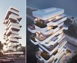 Orange Architects Design A Unique Apartment Tower Overlooking The Best Apartment Architecture Design