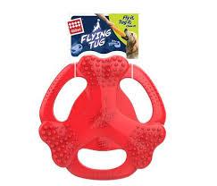 Купить со скидкой <b>Игрушка GiGwi</b> для собак <b>Flying</b> Tag - красный.