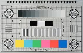 Hdtv Chart Accu Chart 16 9 Hdtv High Definition Engineers Test Chart
