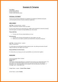 Examples Of Resumes For First Job Sample Resume Personal Summary Statement Archives GotrafficCo 73