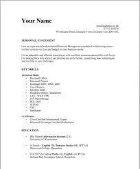 Simple Resume Example Unique Simple Resume Examples For Students Resume Corner