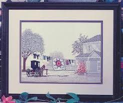 Color Charts Amish Star Cross Stitch Leaflet Steve Polomchak