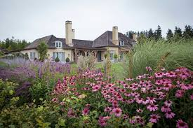 country gardens. Bright Flowers Grow In The Garden Of Smileys\u0027 Property At Mount Algidus. Country Gardens A