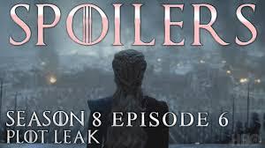 game of thrones season 8 6 leaked what happens in this week s got hiptoro