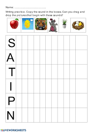 There's a reason jolly phonics is a favourite. Jolly Phonics Group I Worksheet