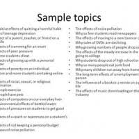 Topic Ideas For Cause And Effect Essays Mistyhamel
