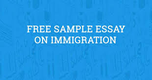 immigration essay com