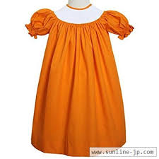 ready to smock your smocking plate in this orange bi dress