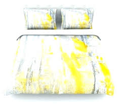 abstraction gray yellow cotton duvet cover twin contemporary covers and sets grey xl bedrooms ideas 2019