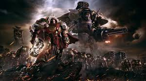 e marines of the order of blood ravens wallpaper from warhammer 40 000 dawn of war iii