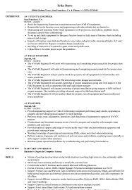 Av Engineer Resume Samples Velvet Jobs