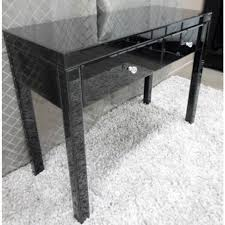 vegas white glass mirrored bedside tables. VEGAS Black Glass Mirrored Console Hallway Dressing Table Within Hall Prepare 19 Vegas White Bedside Tables R