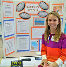 galactic curiosity fifth grade student charts a science course  display board for 4th grade apophis science project