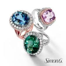 simon g pion collection rings