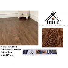45sqft 30keping ideco self adhesive vinyl flooring no glue needed 2 0 mm