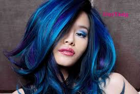 Hair Color Blue Choice Image Coloring
