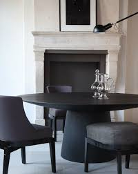 gorgeous black round dining table with best 25 black round dining table ideas on dining