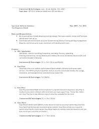 Sample Qa Tester Resume Resume Sample Source