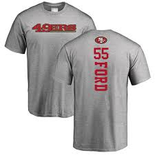 55 Francisco Dee T-shirt Football Ford 49ers Jersey Sale Backer San Ash facfffabeabf|Washington Redskins At Chicago Bears, October 6, 2019